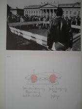 FRANZ ERHARD WALTHER  Originaloffsetlithographie handsigniert, Griffelkunst