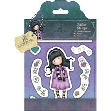 New Simply Gorjuss Urban Rubber Stamps LITTLE SONG GIRL SET free US ship