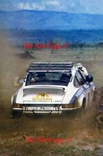 Bjorn Waldegard Porsche Carrera RS Safari Rally 1974 Photograph 1