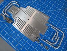 Aluminium Front & Rear Bumper Guard+Chassis A Plate Tamiya 1/10 Sand Scorcher