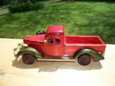 1930's Dodge Antique Style Wooden Sculptured Pickup Truck