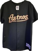 Vintage Houston Astros Throwback Majestic Youth Jersey Size XL