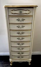 French Provincial Lingerie Chest Tall Dresser Sears Bonnet Drawers Vintage