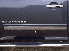 For 2009-2013 CHEVROLET SILVERADO 2-door, Regular Cab 2 PC SS Rocker Panel Trim,