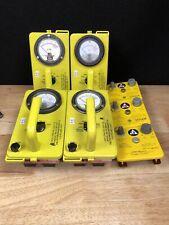 Lot Of Civil Defense Geiger Counter Lot Cdv 715 Amp Cd V 750 See Desc Jhc3