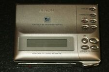 New listing For Parts Denon Dmp-R50 MiniDisc Recorder / Player Portable Md Silver