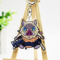 Demon Slayer Kimetsu no Yaiba Hashibira Inosuke Key Chain Bulk Keychain Charms