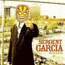 Sergent Garcia-Mascaras CD NUOVO + non usato/MINT!