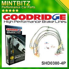 Honda Civic Type-R EP3 2001-2005 Zinc Plated Goodridge Brake Hoses SHD0380-4P