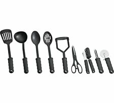 Simple Value 9 Piece Suregrip Kitchen Utensil Starter Set Is Both Great Black