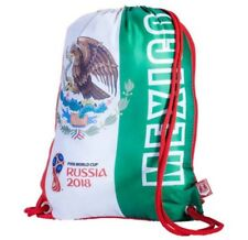 MEXICO FIFA WORLD CUP BACKPACK RUSSIA 2018 DRAW STRING GYM SACK
