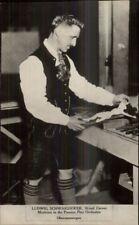 Occupation Wood Carver Ludwig Schwaighofer Oberammergau c1915 CRISP RPPC