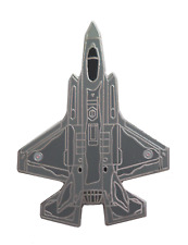 Lockheed Martin F-35 Lightning II Royal Air Force RAF Pin Badge