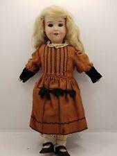 """Antique Armand Marseille Baby Betty German Bisque Doll 13"""" Rich Estate Find"""