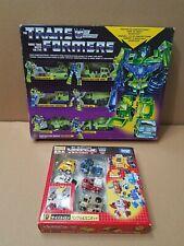 Transformers Reissue Devastator lot Transformers Encore Mini Bots Bumblebee