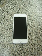 Apple ME350LL/A A1453 iPhone 5s 16GB Silver AT&T Clean ESN Used Parts/Repair
