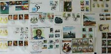 Lesotho 1980-1996 Space Trains Olympics Mail Definitive King etc. FDC Cover x 50