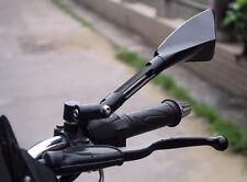 Motorcycle Mirrors Metal Black Universal CNC Rear View  Aussie Seller/ Stock