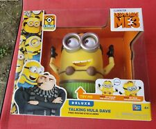 Despicable Me 3 Talking Hula Dave Minion Deluxe Minions - NEW!!