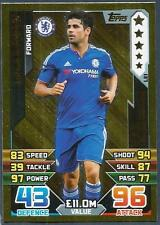 TOPPS MATCH ATTAX 2015-16- #LE1-CHELSEA-DIEGO COSTA-LIMITED EDITION-GOLD