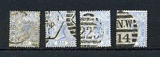 Great Britain #82 X (4) (GB523) Queen Victoria Plate #22, Used, CV$160.00