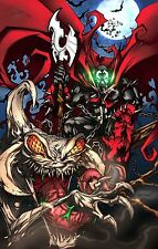 Spawn Amazing Art  - Huge Wall  Poster -  28 in x 20 in ( Fast Shipping )