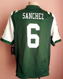 NFL New York Jets Nike jersey size L #6 Sanchez