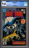 Batman 331 CGC Graded 9.0 VF/NM 1st Electrocutioner DC Comics 1981