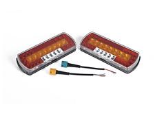 2x LED Anhänger Rückleuchten Beleuchtung 12-24V dynamische Blinker 7 Funktionen