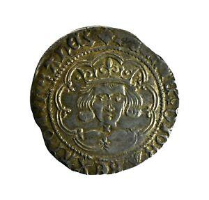 Henry VI Groat - Cross-Pellet Issue (HHC5677)