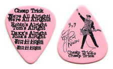 Cheap Trick Rick Nielsen Signature Pink Guitar Pick #2 - 2017-2018 Tour