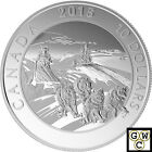 2015 Dog Sledding-Adventure Canada Proof $10 Silver Coin 1/2oz .9999 Fine(17484)