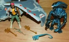 VTG KENNER 1992 ALIENS SPACE MARINES / EVAC FIGHTER VEHICLE / COMPLETE - LOT 3