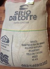 2 Pounds Green Coffee Beans Brazil Sito da Torre Peaberry Honey Process Arabica