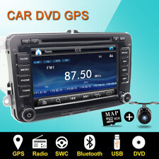 2Din Autoradio GPS NAVI CD for VW Caddy GOLF 5/6 PASSAT SKODA Jetta Seat