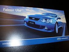 BA FALCON XR-8 UTE PROMO CARD 2003 MINT CONDITION (BROCHURE)
