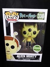 Funko Pop Alien Morty #338 Rick and Morty Exclusive ECC 2018