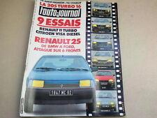 L AUTO JOURNAL - N° 6  - ANNEE  1984  *