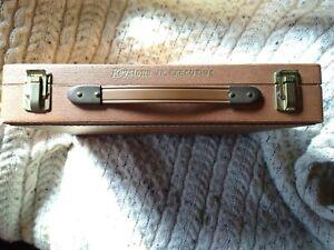 Vintage Keystone Jr. Executive Briefcase Slide Holder