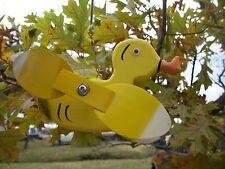 Baby Duck Mini Whirligigs Whirligig Windmill Yard Art Hand made from wood