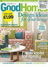 GOOD HOMES,   MARCH, 2012 (DESIGN IDEAS FOR YOUR HOME ) ( FRESH LOOKS FOR SPRING