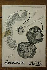 ADVERTISING PUBBLICITA' ELAH BONBON BIANCANEVE   -  1939