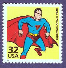 SUPERMAN ARRIVES 1938 US STAMP UNUSED Postage COMIC BOOK SUPERHERO MAN OF STEEL