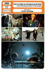 FICHE CINEMA : H2G2 GUIDE DU VOYAGEUR GALACTIQUE Freeman2005 The Hitchhiker's...