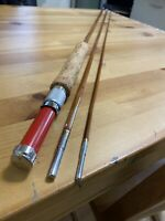 Vintage Montague Flash Fly Fishing Rod 9'