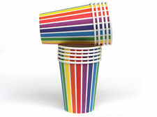 Brand New We Love Sundays Rainbow Cups Colorful Party Supplies Birthday