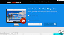 Start Selling Your Own Travel Search Website! Keep 100% Profit- Wordpress Based
