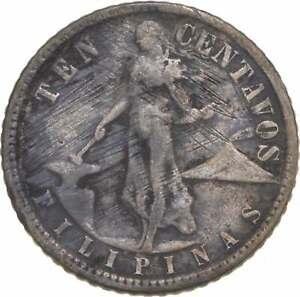 Better - 1945 Philippines 10 Centavos - TC *889