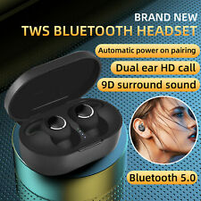 New listing Bluetooth 5.0 Headphone Tws Wireless Headset Mini Earbud Stereo Noise Cancelling
