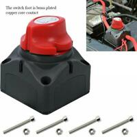 Car RV Marine Boat 12V Battery Isolator Disconnect Rotary Switch Cut On/Off
